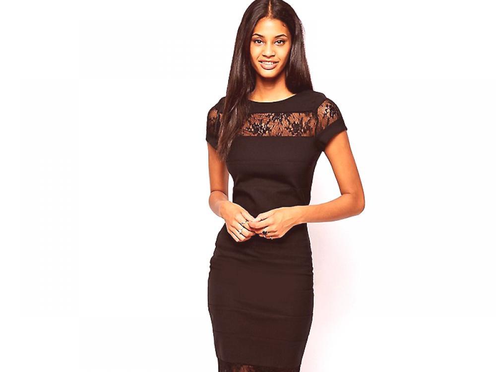 Univerzalna Crna Haljina Za Plašt Moda Iz Coutureru