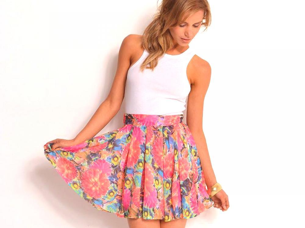 3ba573adbf5c14 Jupe courte - créez une ambiance estivale | Mode de Couture.Ru