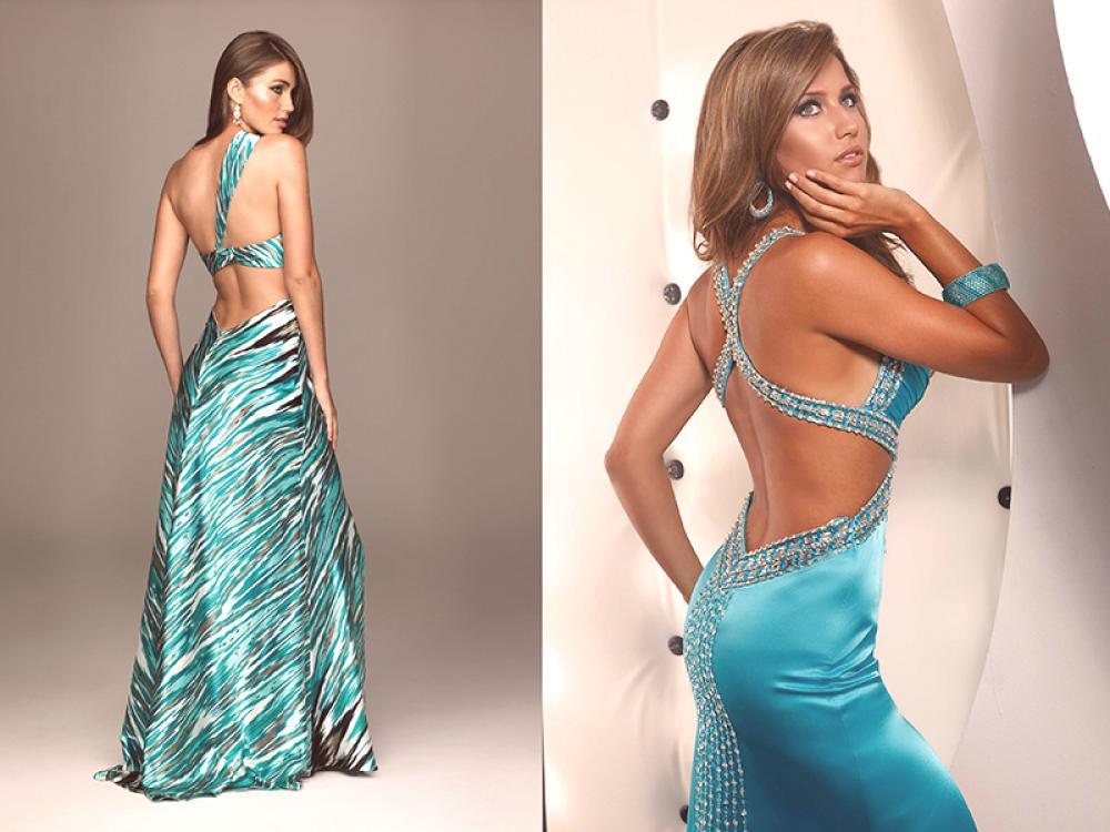 Vestido Com Costas Abertas Roupa Sexy E Misteriosa Moda