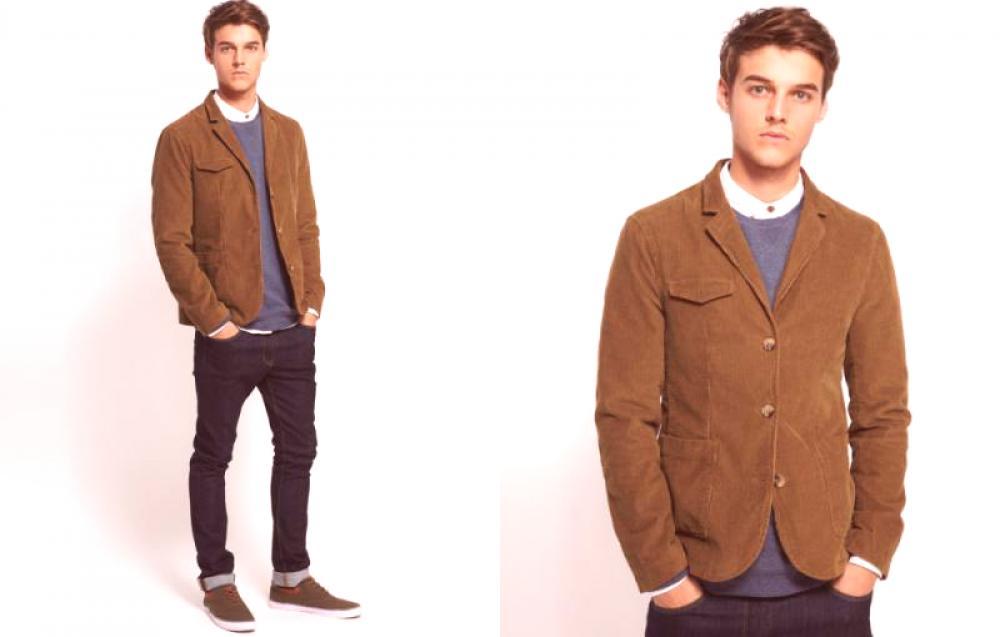 8a0fb13c5 Blazer de hombre marrón - Ropa de caballero | Moda de Couture.Ru