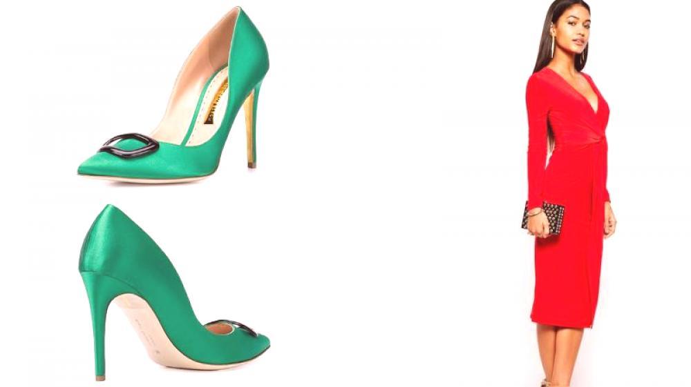 Los Zapatos Verdes Crearán Una Imagen Exclusiva Moda De