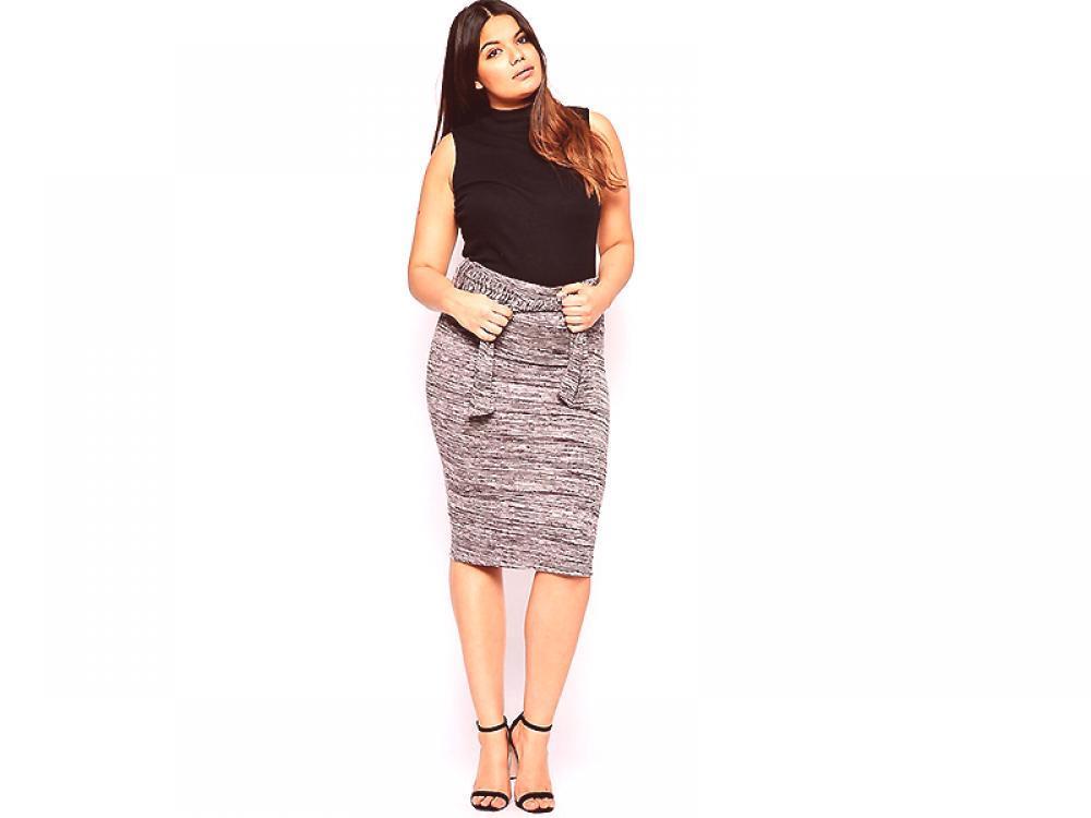 904172086 Falda lápiz para obesos - ropa elegante y cómoda | Moda de Couture.Ru