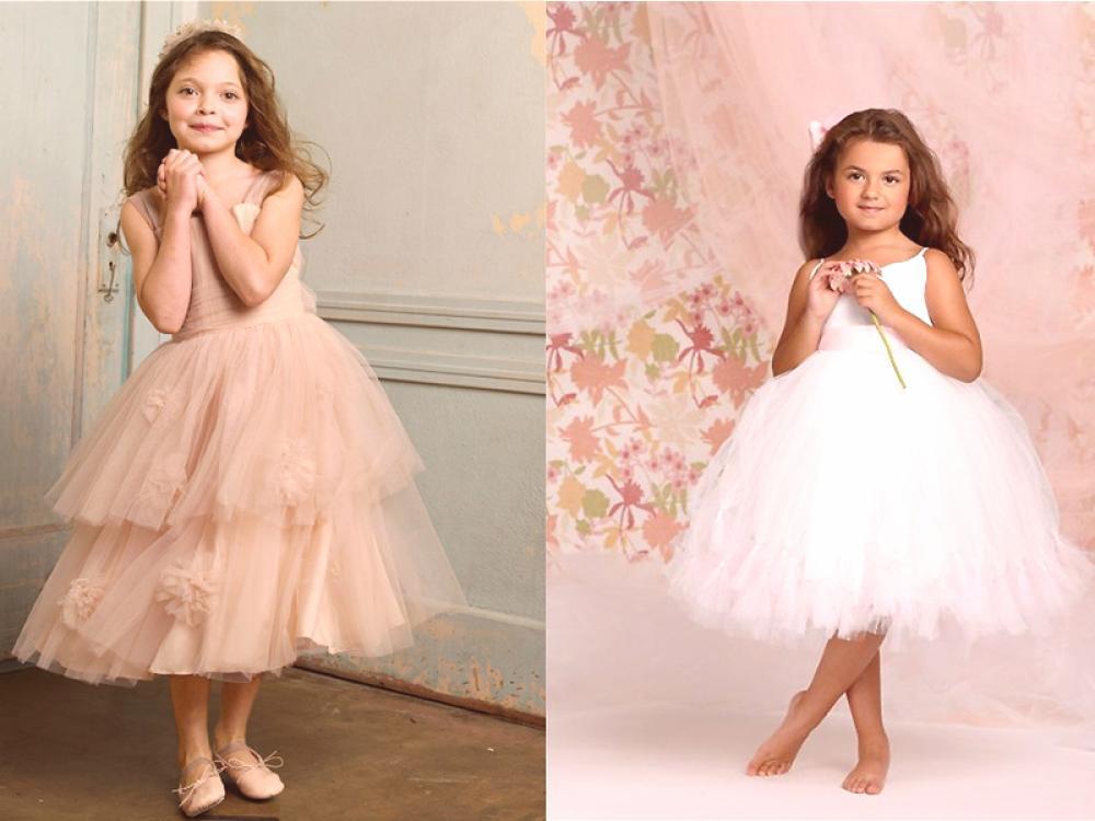 506472c1a Elegante vestido para niñas de tul: consejos para elegir y coser ...