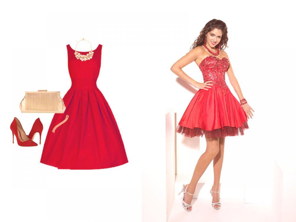 Seleccionamos Accesorios Para El Vestido Rojo Las Reglas