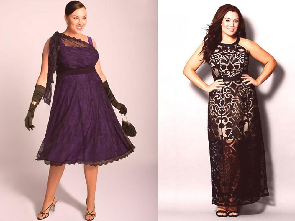 840670b12 Vestidos de noche para mujeres obesas: subrayar su convertido | Moda ...